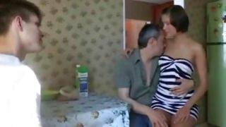 Dude gets his cock sucked by his best friend's lascivious girlfriend