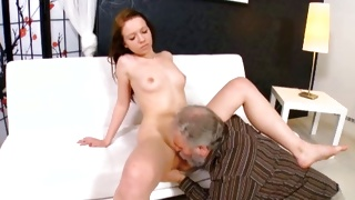Sex videos with naked babe getting her shaved pussy hammered
