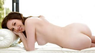 Pale skinned brown-haired bitchy girl is posturing lengthy in the past the nice pouring