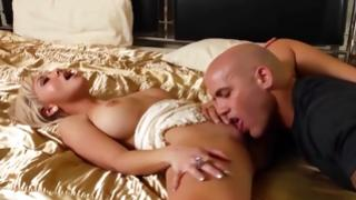 Passionate slut is followed by indecent horny guy