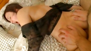 Watch sex perform where babe is kneeling on the bed